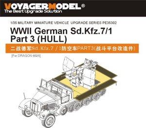 WWII German Sd.Kfz.7/1 Part 3 - Ref.: VOYA-PE35302