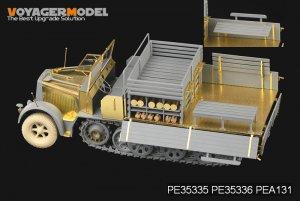 Sd.Kfz.7 8t Late Production Cargo Bay  - Ref.: VOYA-PE35336