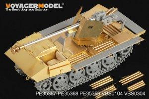 German 75mm PaK 40/4 auf Steyr RSO drive  (Vista 3)