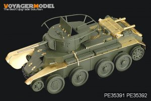 Russian BT-7 model 1935 Fenders  - Ref.: VOYA-PE35392