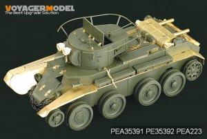 Russian BT-7 model 1935 Fenders   (Vista 5)