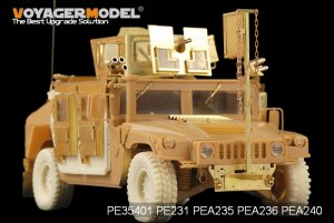 Modern USMC HUMVEE M1114 Frag5 w/smoke d - Ref.: VOYA-PE35401