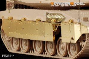 Merkava Mk.IV LIC MBT side skirt  - Ref.: VOYA-PE35414