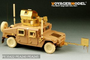 Modern USMC HUMVEE M1151 w/IED - Ref.: VOYA-PE35422