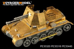German 47mm PaK(t) Panzerjager I basic - Ref.: VOYA-PE35440