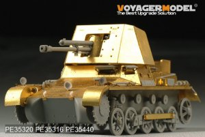 German 47mm PaK(t) Panzerjager I basic  (Vista 4)