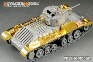 British Valentine Mk.I Infantry Tank Fen  (Vista 2)