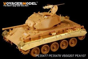 US M24 Chaffee (Early Prod) Light Tank b - Ref.: VOYA-PE35477