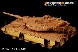 Merkava Mk.3D MBT w/chains - Ref.: VOYA-PE35511