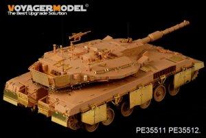 Merkava Mk.3D MBT side skirts - Ref.: VOYA-PE35512