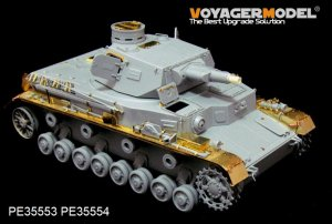 Pz.Kpfw.IV Ausf.A Fenders - Ref.: VOYA-PE35554