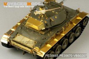 US Army M24 Light tank basic  (Vista 2)