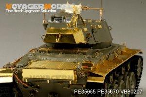 US Army M24 Light tank basic  (Vista 3)