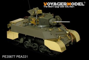 US M3A3 Stuart light tank - Ref.: VOYA-PE35677