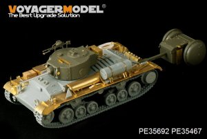 British Valentine Mk.III Infantry Tank b - Ref.: VOYA-PE35692