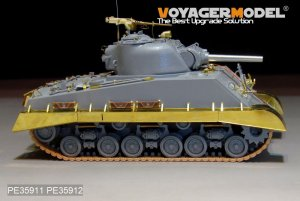 M4A3 HVSS Fenders/Track Cover - Ref.: VOYA-PE35912