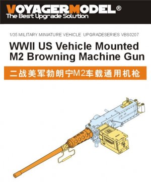US Vehicle Mounted M2 Browning ametralla - Ref.: VOYA-VBS0207