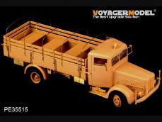 Bussing Nag L4500S 4X2 Cargo Truck - Ref.: VOYA-PE35515