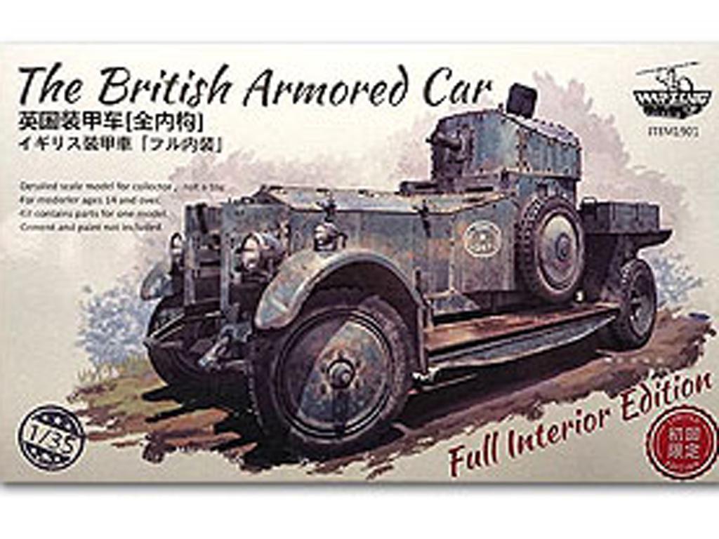 Britis h Armour Car Full interior (Vista 1)