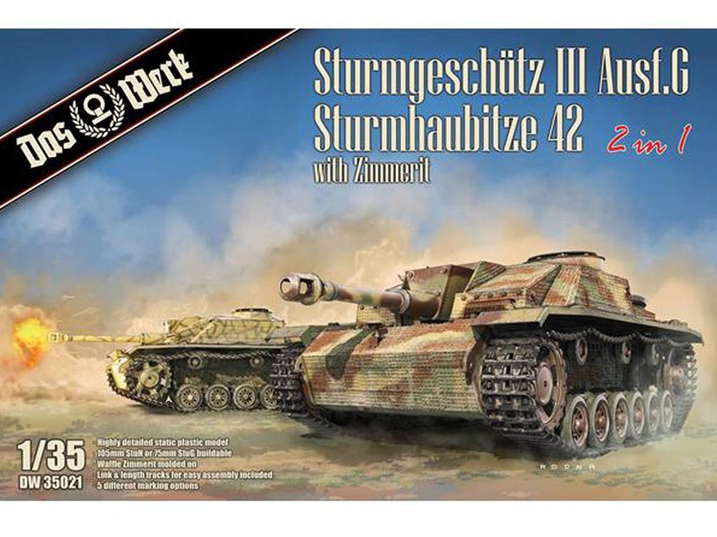 Sturmgeschütz III Ausf. G / Sturmhaubitze 42 (Vista 1)