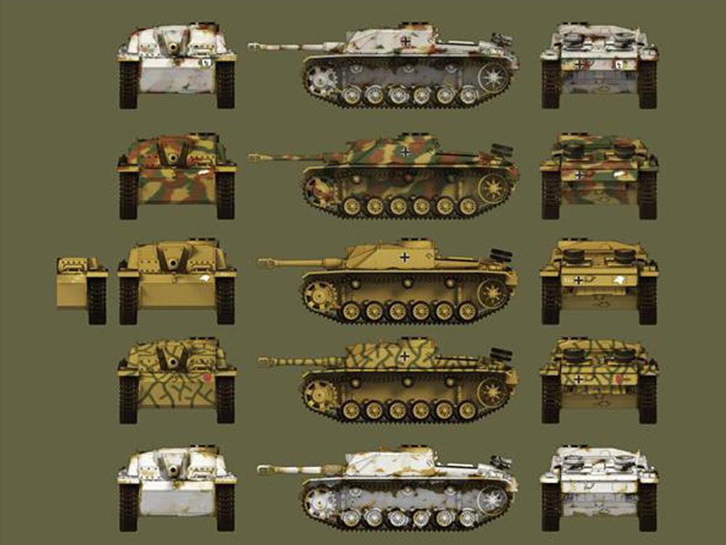Sturmgeschütz III Ausf. G / Sturmhaubitze 42 (Vista 3)