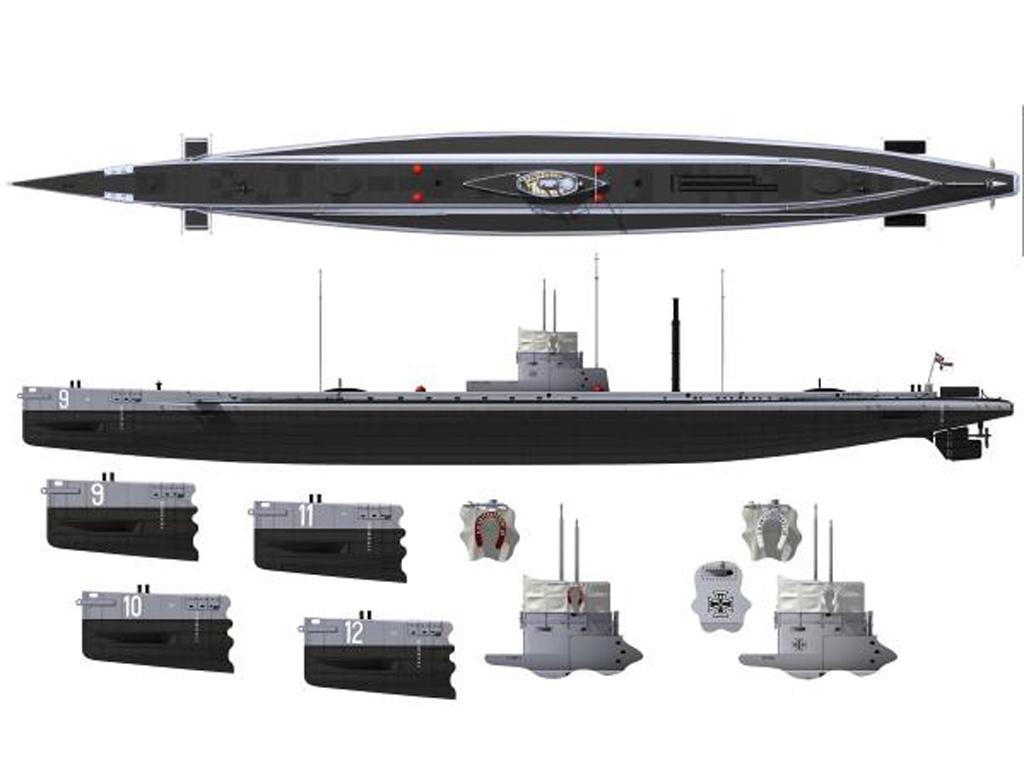 S.M. U-Boot 9 (Vista 3)