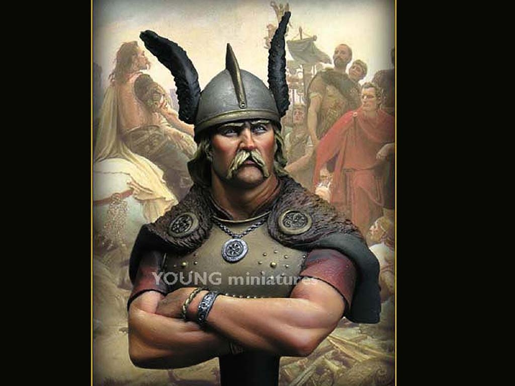 Vercingetorix Gallic Wars, 52 B.C  (Vista 1)