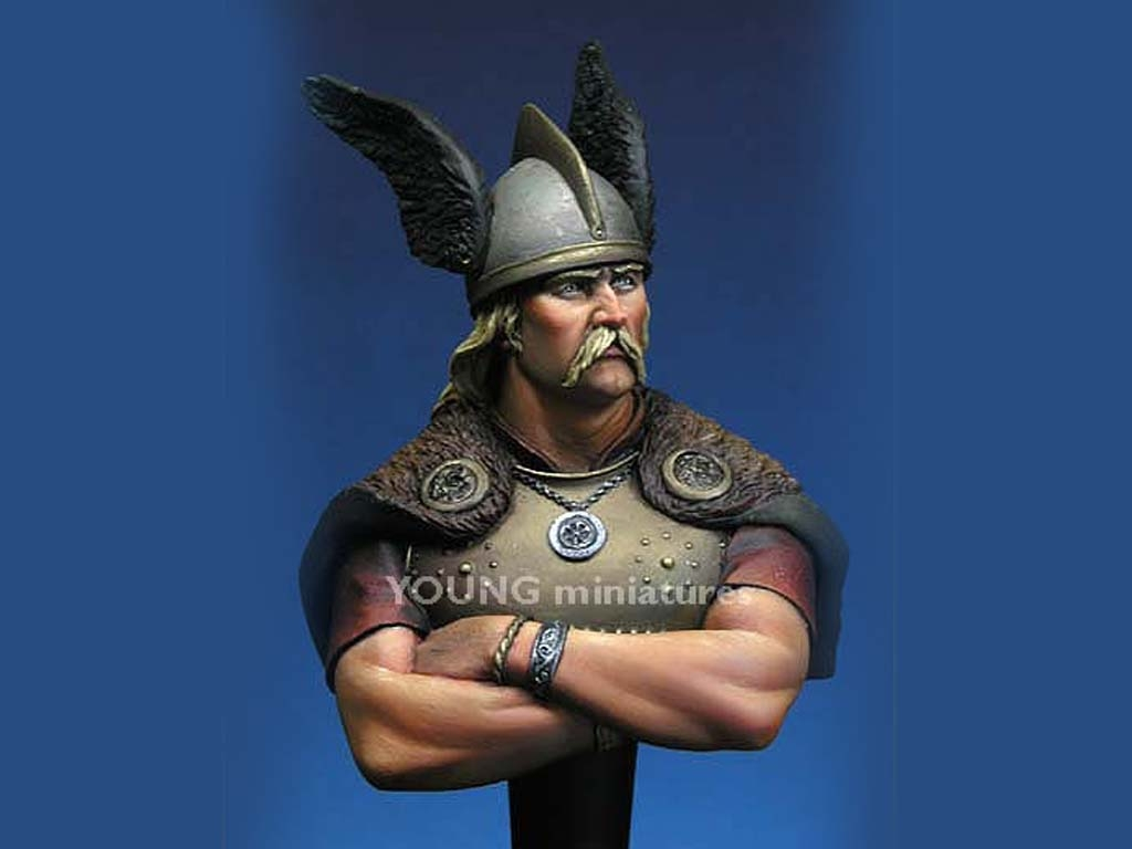 Vercingetorix Gallic Wars, 52 B.C  (Vista 2)