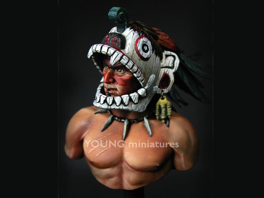 Guerrero Azteca  (Vista 3)