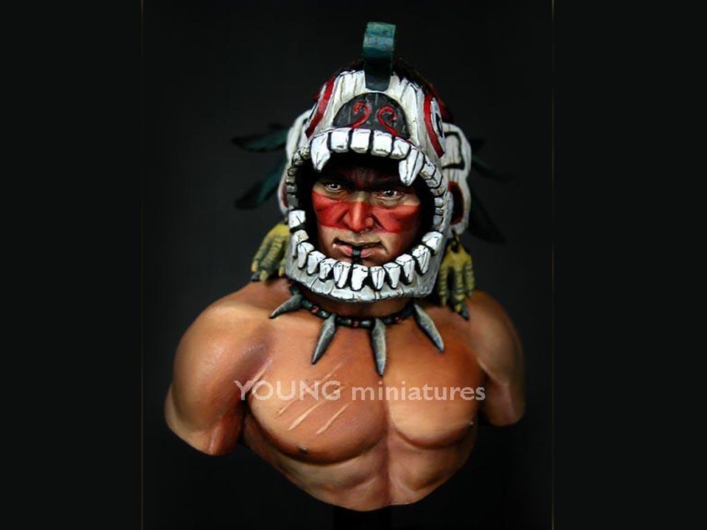 Guerrero Azteca  (Vista 4)