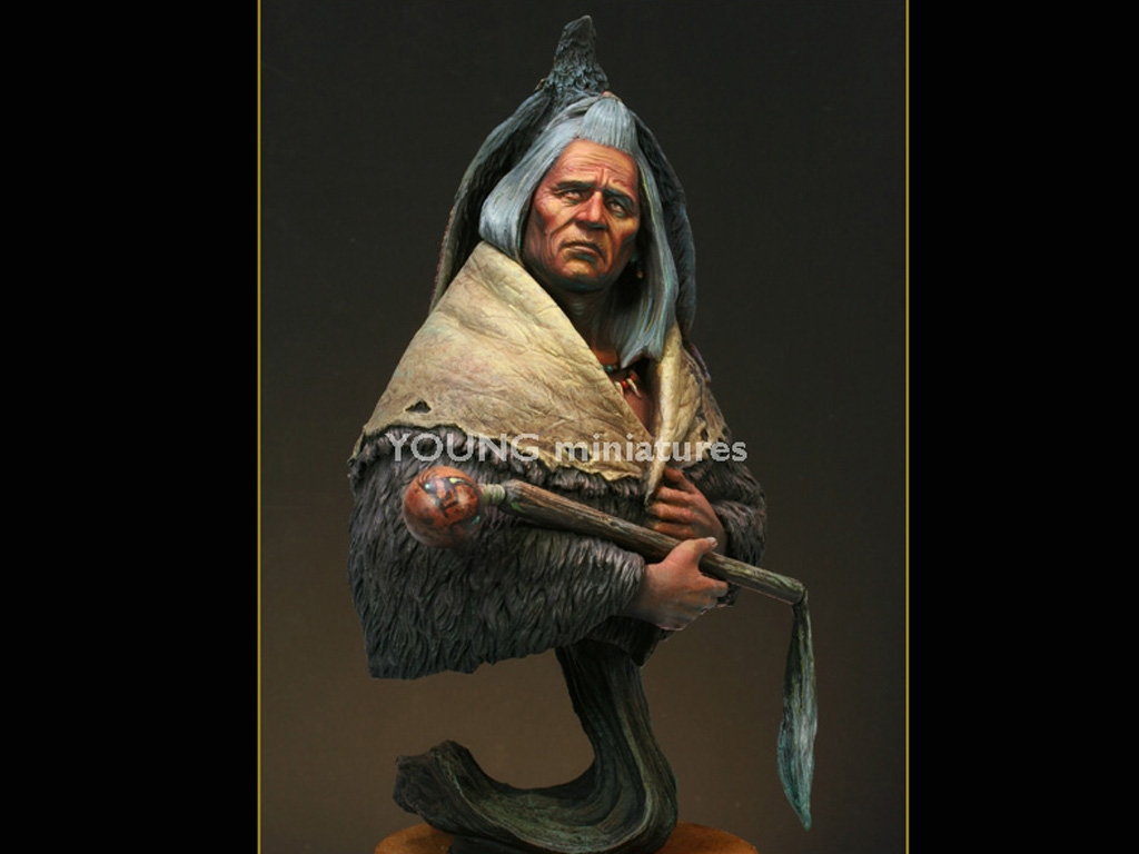 Blackfoot Raven Bearer  (Vista 8)