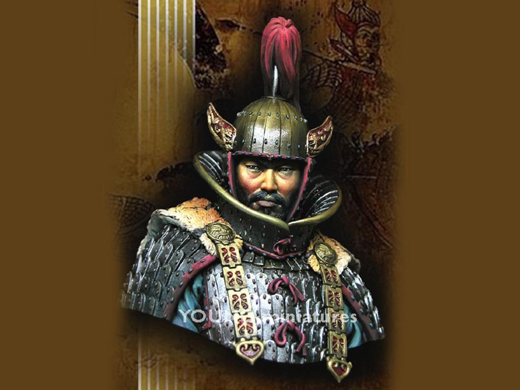 Goguryeo Heavy Cavalry Officer  (Vista 1)