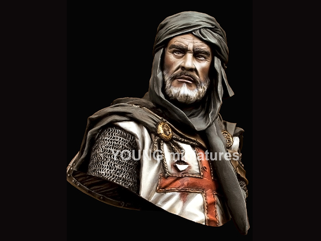 Caballero Templario en Jerusalén  (Vista 1)