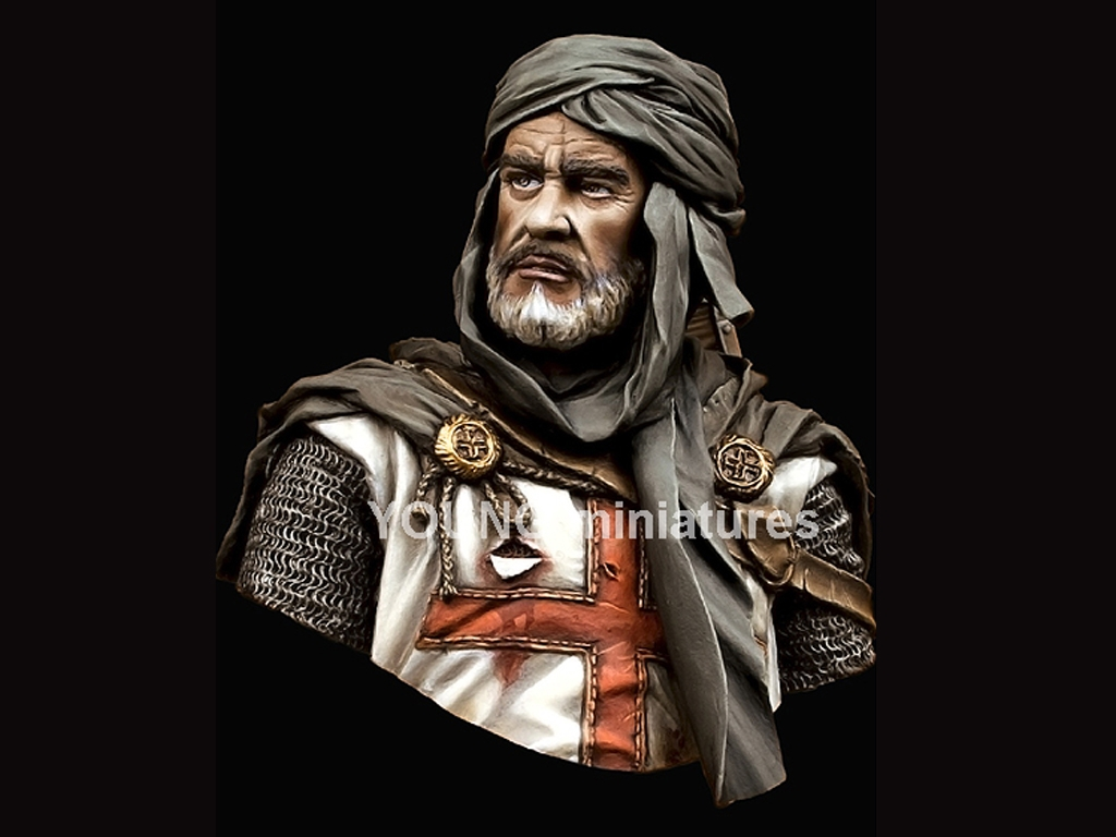 Caballero Templario en Jerusalén  (Vista 2)