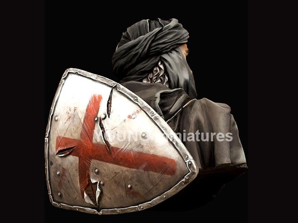Caballero Templario en Jerusalén  (Vista 4)