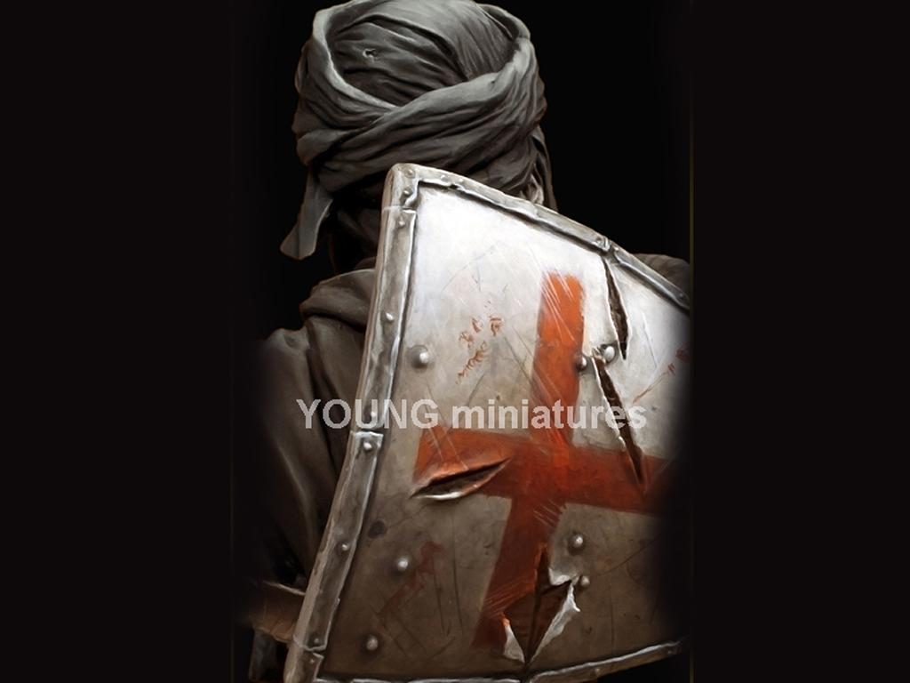 Caballero Templario en Jerusalén  (Vista 6)