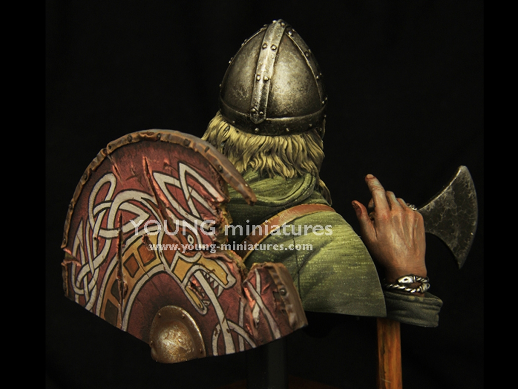 Guerrero Vikingo c. 950  (Vista 5)