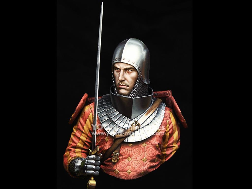 Medieval Knight 14th Century   (Vista 1)