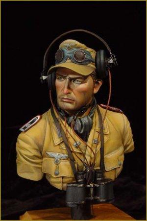 Dak Panzer officier  (Vista 1)