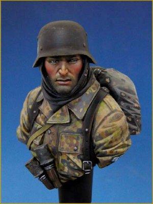 German Waffen SS Ardennes 1944  (Vista 1)