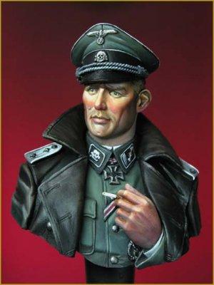 SS Totenkopf Officer WWII  (Vista 1)