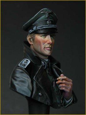 SS Totenkopf Officer WWII  (Vista 6)