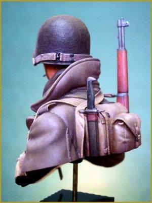 Soldado U.S. en las Ardenas 1944  (Vista 3)