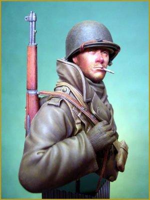 Soldado U.S. en las Ardenas 1944  (Vista 5)