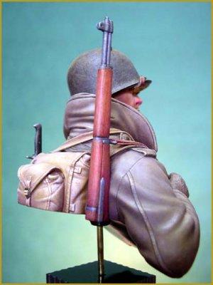 Soldado U.S. en las Ardenas 1944  (Vista 6)