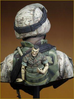 USMC FALLUJAH IRAQ 2004  (Vista 4)