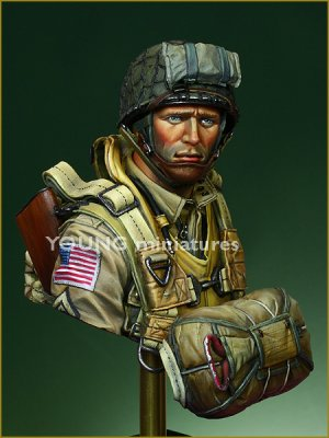 US Paratroopers 82nd Airborne Normandy 1  (Vista 2)