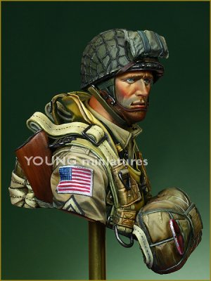 US Paratroopers 82nd Airborne Normandy 1  (Vista 3)