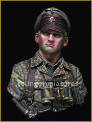 German Waffen SS Officer 1944  (Vista 1)