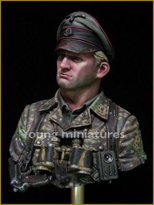 German Waffen SS Officer 1944  (Vista 2)